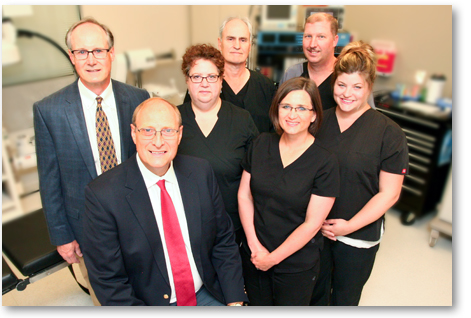 Dr. Wright and staff - hernia surgery